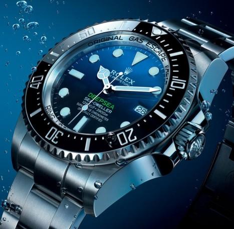 Rolex представя модела DeepSea