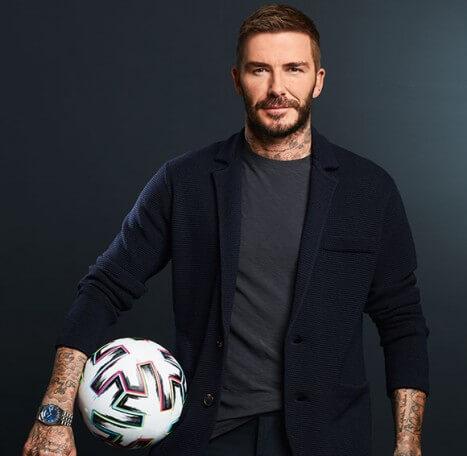 David Beckham is also #BornToDare