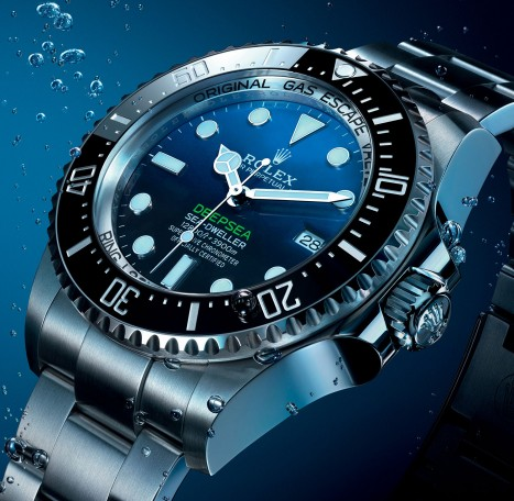 Rolex presents the DeepSea model
