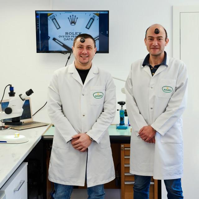 Rolex сервизна процедура